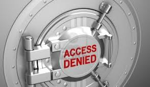 Acces denied